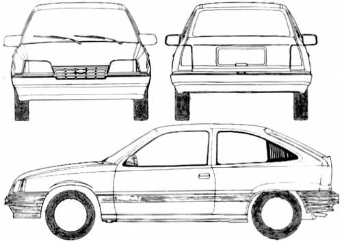 Chevrolet BR Kadett (1989)