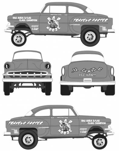 Chevrolet Chevy Gasser (1954)