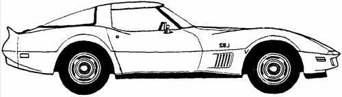 Chevrolet Corvette Coupe (1980)