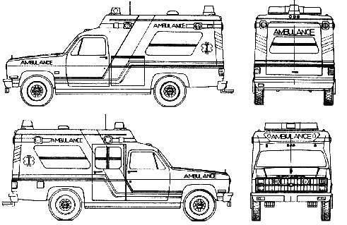 Chevrolet Fire Truck (1985)