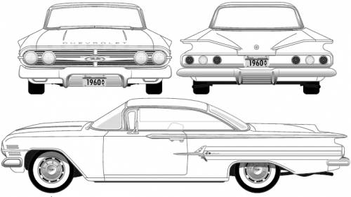 Chevrolet Impala Sport Coupe (1960)