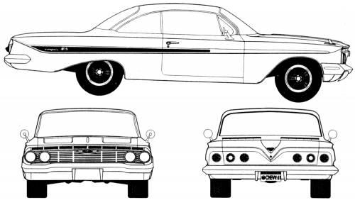 Chevrolet Impala Sport Coupe (1961)