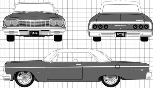 Chevrolet Impala Sport Coupe (1964)