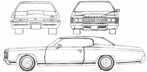 Chevrolet Impala Sport Coupe (1971)