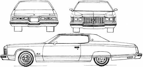 Chevrolet Impala Sport Coupe (1974)
