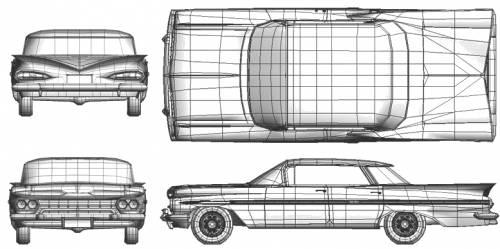 Chevrolet Impala Sport Sedan (1959)