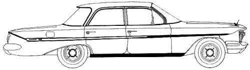 Chevrolet Impala Sport Sedan (1961)