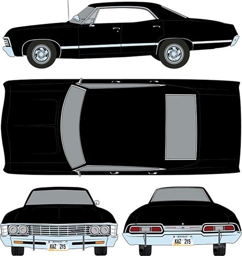 Chevrolet Impala Sport Sedan (1967)