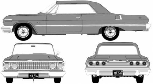 Chevrolet Impala SS 2-Door Hardtop (1963)
