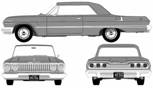Chevrolet Impala SS Convertible (1963)