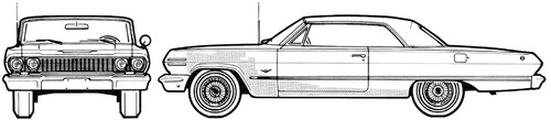 Chevrolet Impala SS Sport Coupe (1963)