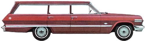 Chevrolet Impala Station Wagon (1963)