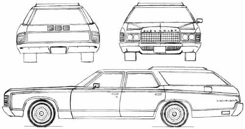Chevrolet Kingswood Estate Wagon (1971)