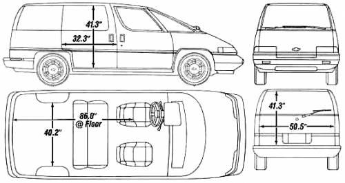 Chevrolet Lumina APV (1990)