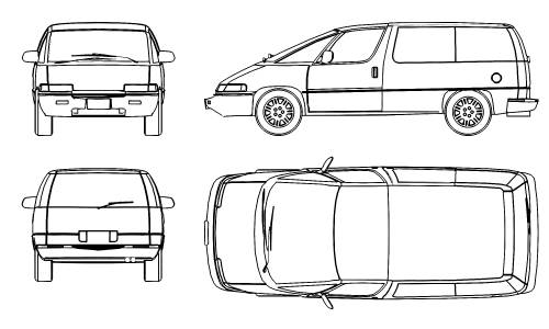 Chevrolet Lumina APV (1991)