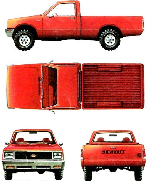 Chevrolet LUV (1981)