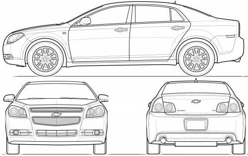 Chevrolet Malibu (2008)