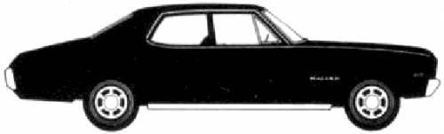 Chevrolet Malibu 4-Door Sedan (1970)
