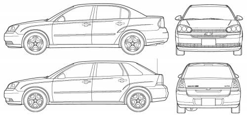 Chevrolet Malibu (Maxx) (2005)