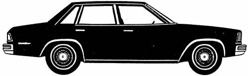 Chevrolet Malibu Sedan (1978)
