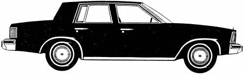 Chevrolet Malibu Sedan (1981)