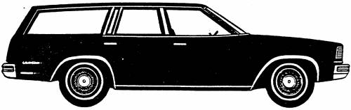 Chevrolet Malibu Station Wagon (1978)