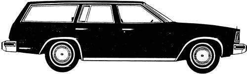 Chevrolet Malibu Station Wagon (1981)