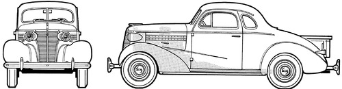 Chevrolet Master Coupe-Pick-Up (1938)