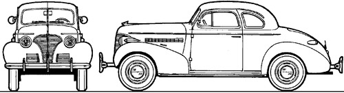 Chevrolet Master DeLuxe Coupe (1939)
