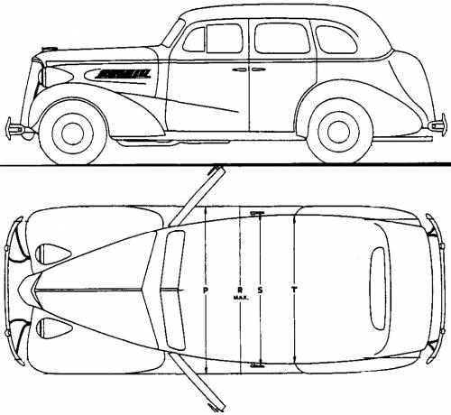 Chevrolet Master DeLuxe Touring Sedan (1937)