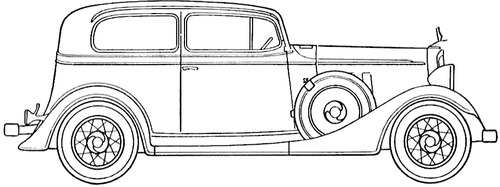 Chevrolet Master Six Couch (1933)