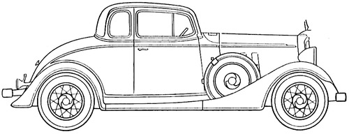 Chevrolet Master Six Coupe (1933)