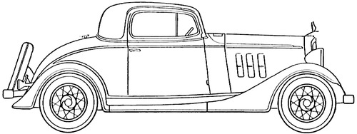 Chevrolet Master Six Sport Coupe (1933)