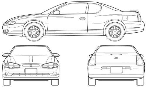 Chevrolet Monte Carlo (2005)