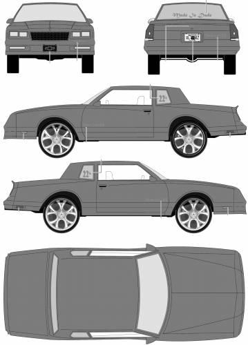Chevrolet Monte Carlo DONK (1986)
