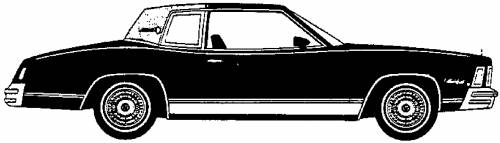 Chevrolet Monte Carlo Landau Coupe (1978)