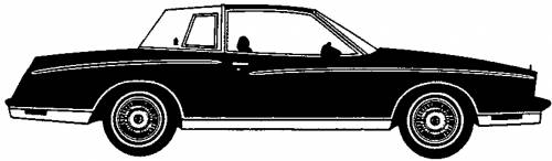 Chevrolet Monte Carlo Landau Coupe (1980)