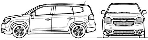 Chevrolet Orlando (2014)