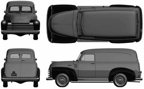 Chevrolet Panel Delivery (1951)