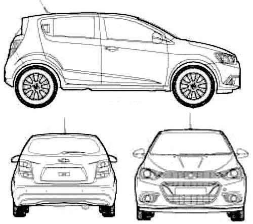 Chevrolet Sonic 5-Door (2015)