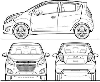 Chevrolet Spark (2014)