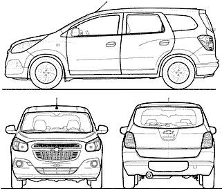 Chevrolet Spin (2014)
