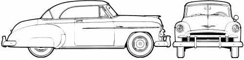 Chevrolet Styleline DeLuxe Bel Air 2-Door Hardtop (1950)