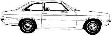 Chevrolet Vega 2-Door Sedan (1971)