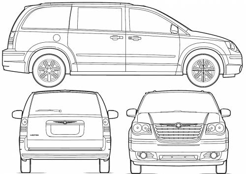 vector requests chrysler town amp country 2008