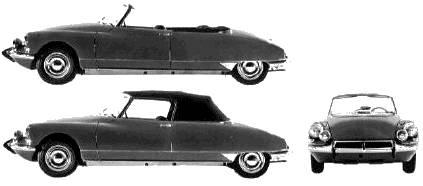 Citroen DS19 Decapotable (1967)