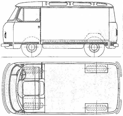 Commer FC .75 ton Van