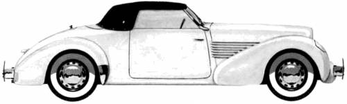 Cord 810 Convertible Sportsmans Coupe (1936)