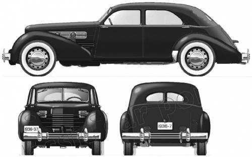 Cord 810 Westchester 4-Door Sedan (1937)