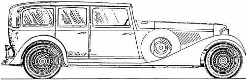 Cord E-1 V12 Town Sedan (1932)